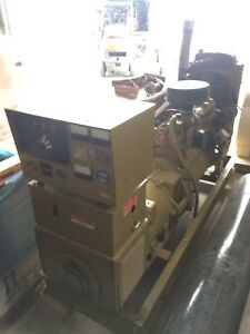 60 Kw Canadian Diesel Generator 347 600 Volt 3 Phase Used