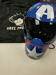 Save Phace 3012657 Efp b Series Welding Helmet Hood Avengers Captain America Use