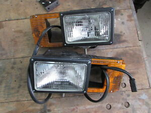 New Blizzard Snow Plow Head Lights New In Box B61106 Arrow Lights