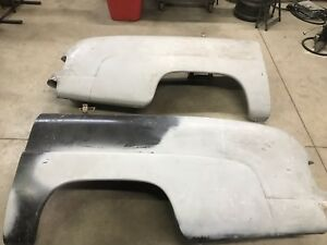 Mercury Fiberglass Quarter Panels Pair Drivers Passenger 49 50 51 1949 1950 1951