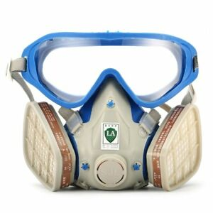 Yeelen Respirator Gas Mask Safety Comprehensive Full Face Cover Paint Industri