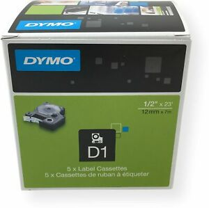 Dymo Standard D1 Labeling Tape For Labe Lmanager Label Makers Black Print On