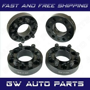 Complete Ford F 150 Black 1 5 Hub Centric Wheel Spacers 6x135 24 Lug Nuts