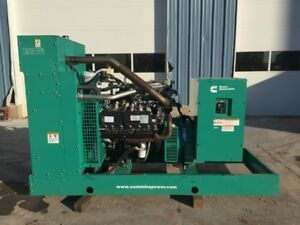 _125 Kw Cummins onan Generator New W Warranty From Man 6 8l V 10 Ford Engine