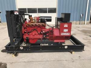_150 Kw Baldor Generator Set 12 Lead Skid Mounted Low Hours John Deere En