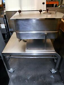 Groen Td fpc Commercial 40 Qt Electric Braising Pan tilt Skillet