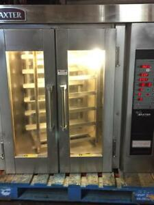 Baxter Hobart Ov300e Electric Mini Rack Oven Steam Bakery Restaurant Ho300e