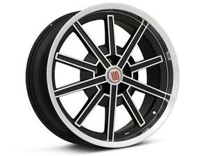 Shelby Cs67 Gloss Black 18 Staggered Wheels Rims Mustang Gt