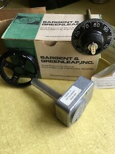Sargent Greenleaf 6720 Combination Safe Lock Complete Large Knob Parts N Tool