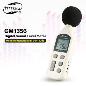 Gm1356 30 130db S c Digital Sound Level Meter Usb Noise Volume Decibel Tester Ik