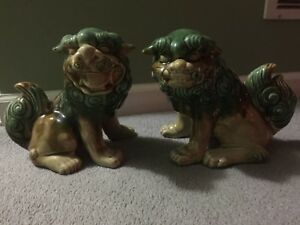 Chinese Foo Dog Statues Collectibles