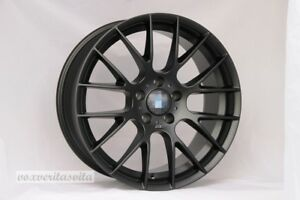 18 Black Zcp Style M3 Wheels Rims Fits Bmw 528i 525i 530i Series E60 Awd Only