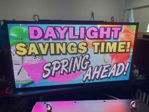 P6 67 Outdoor Led Display 27 5 X 52 75