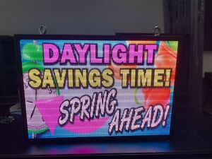P5 Outdoor Led Display 27 5 X 40 25
