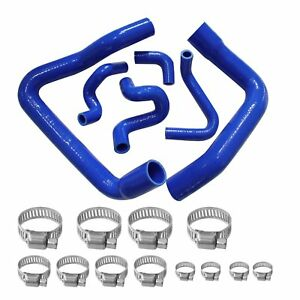 Silicone Radiator Hose Kit For Mustang Gt Lx Cobra 5 0 1986 1993 88 89 91 Blue