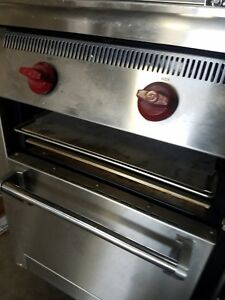Wolf 60 Stainless Commercial Range With Burner 24 Raised Griddle broiler G