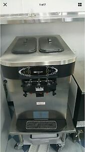 Taylor Crown 3 Flavor Water Cooled Soft Serve fro yo Ice Cream Machine C723 33