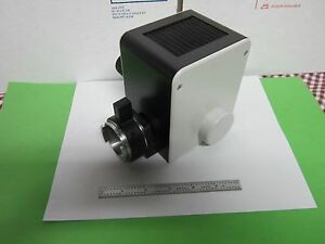 Microscope Part Illuminator Lamp Housing Leitz Wetzlar Germany Orthoplan Bin 47