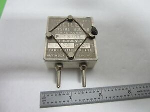 Vintage Wwii Bliley Vp5 Quartz Crystal Frequency Control Ham Radio Bin l7 30