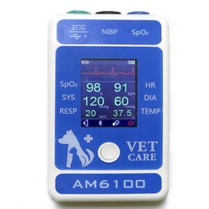 Km 31 Veterinary Animal Multi parameter Ecg Wave Monitor Bluetooth App Use