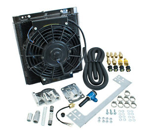 Empi 9248 Mesa Style 96 Plate Oil Cooler Thermostat Electric Fan Full Flow Kit