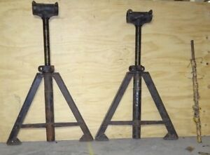 Nautical Ship Salvage Cast Iron Industrial Navy Ship Adjustable Stand Legs