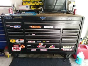 Matco Triple Bank Tool Box Only No Tools