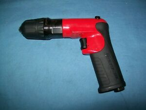 Snap on Pdr2501 1 4 Capacity Micro Reversible Air Drill 1800 Rpm Max Exc
