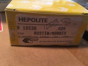 Hepolite Piston Ring Set 020 Pn 16536 Mga 1622cc