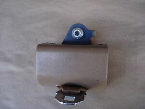 87 91 Ford F 150 250 350 Truck Extended Cab Rear Seat Belt Driver Left Tan Oem