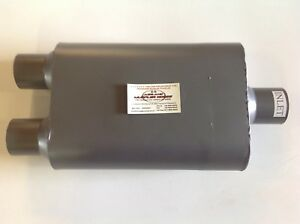 2 Chamber Street Performance Muffler 3 Center In 2 5 Dual Out Flo 830402