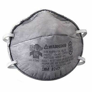 3m Dust Mask 8247 relief Against Nuisance Levels Of Organic Vapor 20 Per Box