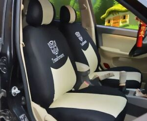 2019 New 10 Pcs Transformers Universal Car Seat Covers