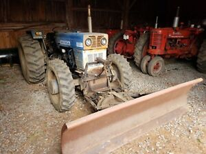 Universal Tractor 640dt c 4wd 60hp Snow Plow