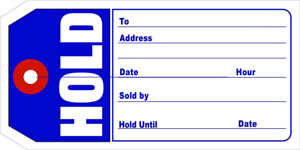 Aviditi G26011 hold Retail Tags 4 3 4 X 2 3 8 pack Of 1000