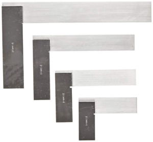 Fowler Full Warranty 52 432 246 0 Machinist Hardened Steel Square Set 2 3 4