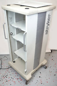 Stryker 240 099 001 Endoscopy Auxiliary Video Cart 115v 60hz 15a Tested