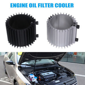 Auto Car Engine Oil Filter Cooler Heat Sink Cover Cap Billet Ef Eg
