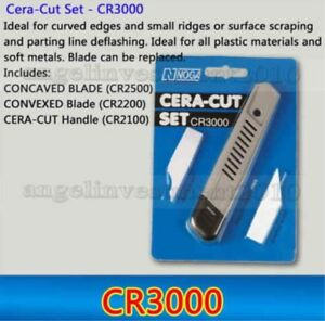 1 Set Noga Cera cut Set Cr3000 Deburring Tool With Concaved And Convexed Blade