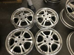 Weds Kranze Cerberus 4x100 14x5 35 Rare Jdm Wheels Rims Work Ssr Weds
