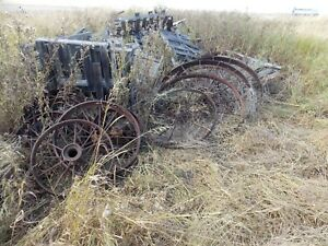 Wheels For Antique Tractors And Plows