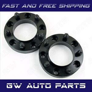 2 Black 1 Hub Centric Wheel Spacer 5x120 Cb 66 9mm 14x15 Fit Camaro Cts