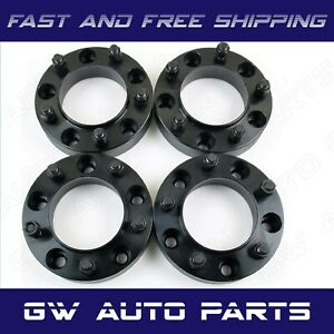 4 Black 1 5 Hub Centric Wheel Spacer 5x120 Cb 66 9mm 14x15 Fit Camaro Cts
