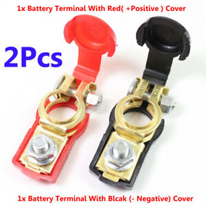 Us 12v Car Quick Release Battery Disconnect Terminals Clamps Connectors