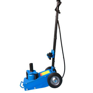 22 Ton Air Hydraulic Floor Jack Lift Auto Truck Trailer Bus Car Stand Tool