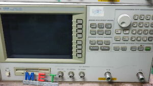 Agillent 10mhz 3ghz Vco Pll Signal Analyzer 4352b 4352b 60days Warrenty