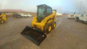 2015 Caterpillar 242d Cab A c Skid Steer Loader 327hrs 74hp Hyd Quick At Used
