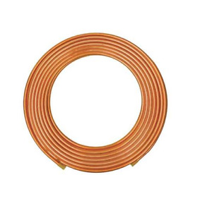 Mueller Industries 100 Ft Soft Coil Copper Tubing 7 8 Outside Dia Ls06100