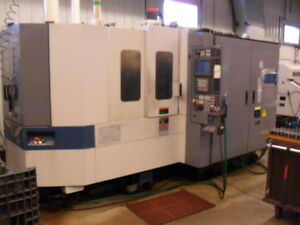 Used Mori Seiki Sh 400 2 Pallet Cnc Horizontal Machining Center Mill Spindle 98