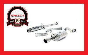 Yonaka 92 00 Honda Civic Eg Ek Performance Catback Exhaust 2dr 4dr Quiet Muffler
